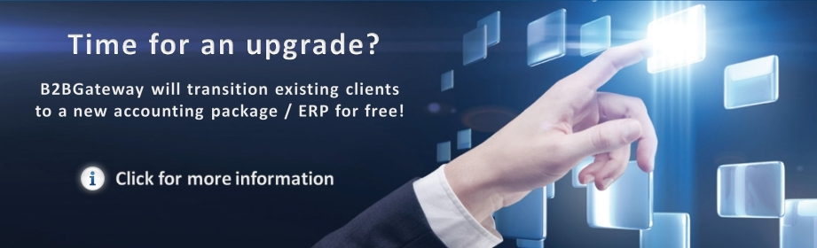 Changing ERP? Let B2BGateway transition your setups for free!