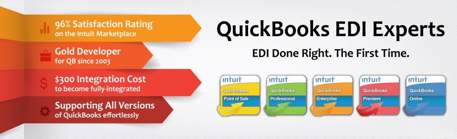 B2BGateway - The QuickBooks EDI Experts. Click here for pricing.